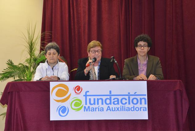 Presentación de la Fundación María Auxiliadora en Zaragoza