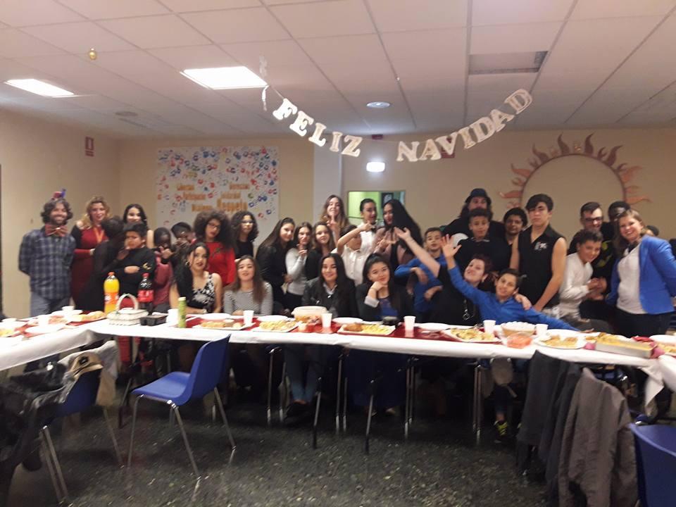 Cena navideña en el CTL Sin Mugas