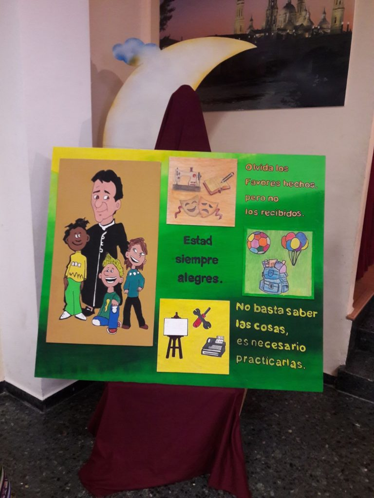 Don Bosco... tu sueño continúa en la Fundación María Auxiliadora de Zaragoza