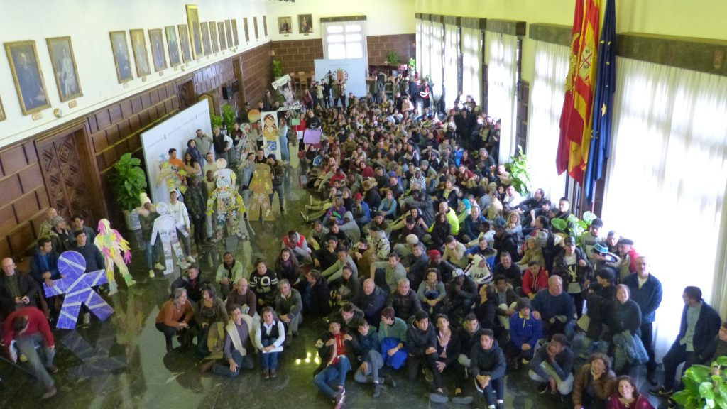 Los Centros Sociolaborales celebran el Día Escolar de la No Violencia