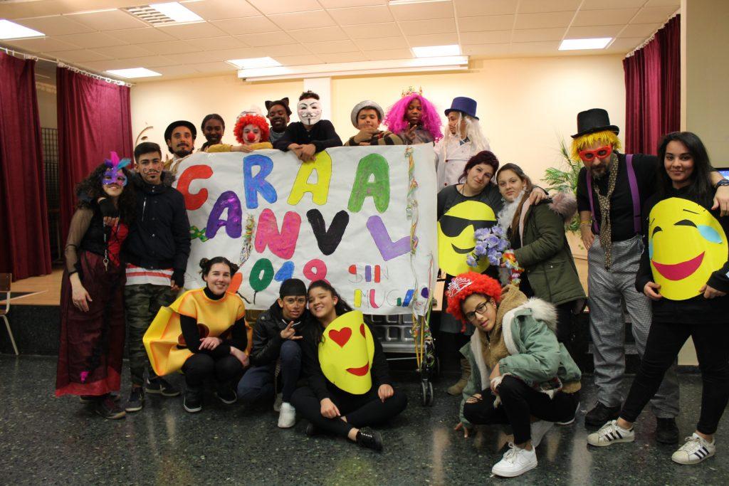 Noche alternativa de Carnaval en el CTL Sin Mugas