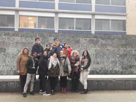 Visita Facultad de Ciencias Sociales y del Trabajo