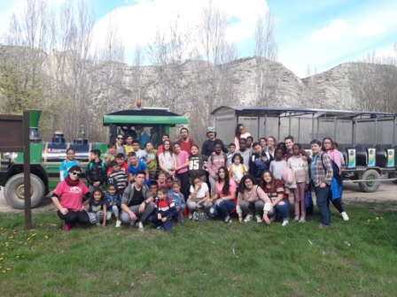 Excursión a los galachos de Juslibol del CTL Sin Mugas