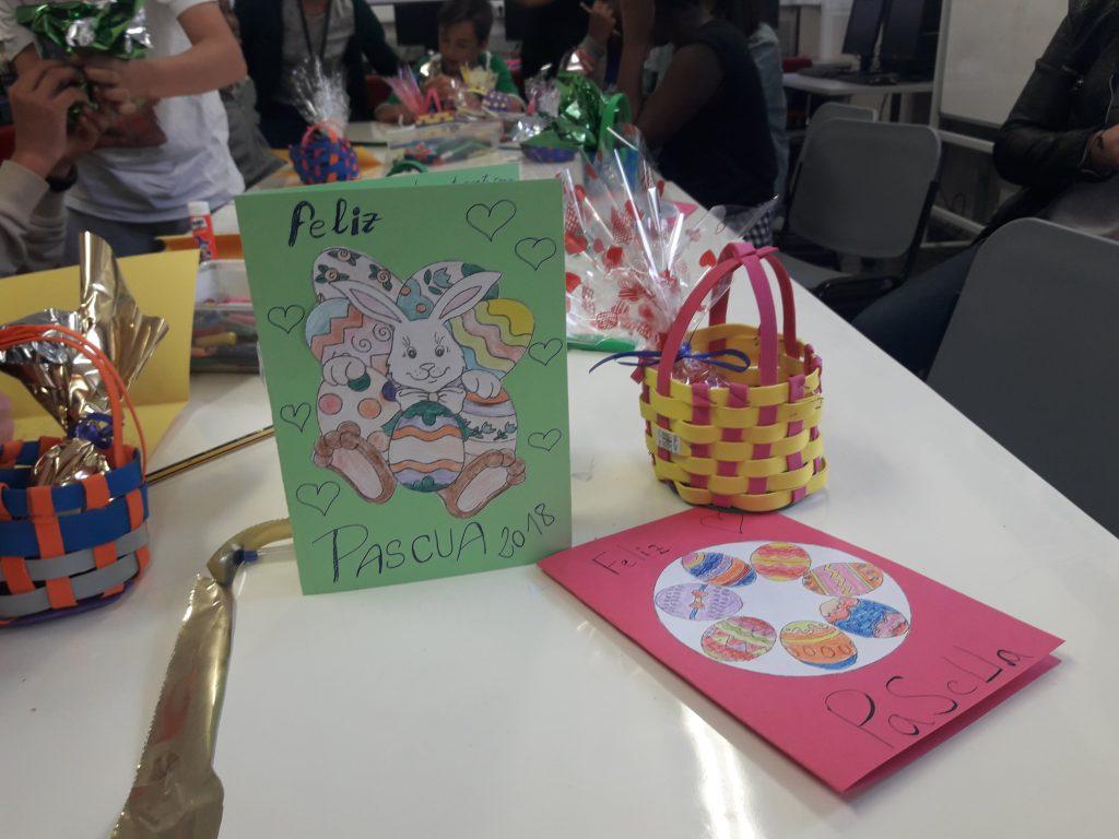 Regalos de Pascua en el CTL Sin Mugas