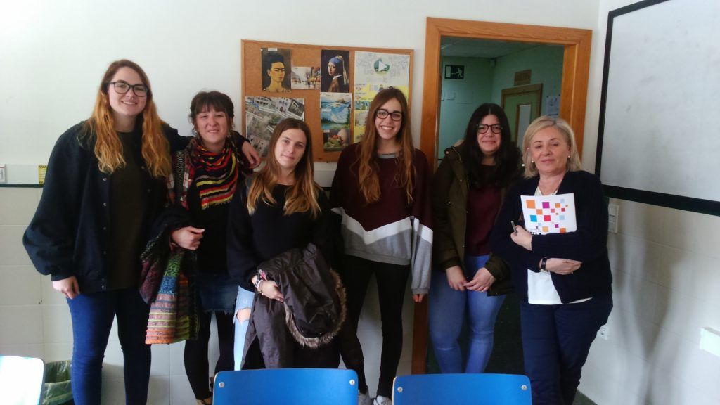Visita al proyecto Main estudiantes de Trabajo Social