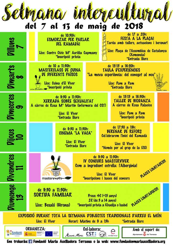 Semana Intercultural en Terrassa