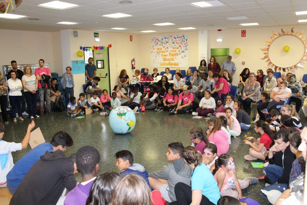 Jornada Intercultural en la Fundación María Auxiliadora de Zaragoza