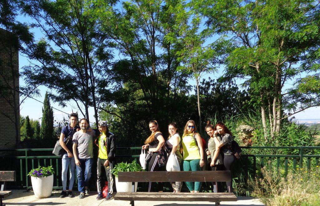 Visita al Galacho de Juslibol