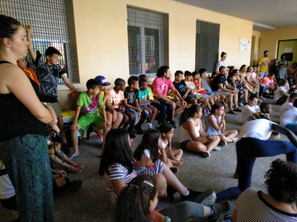 Colonias de verano: La búsqueda del compartir en el CTL SIN MUGAS