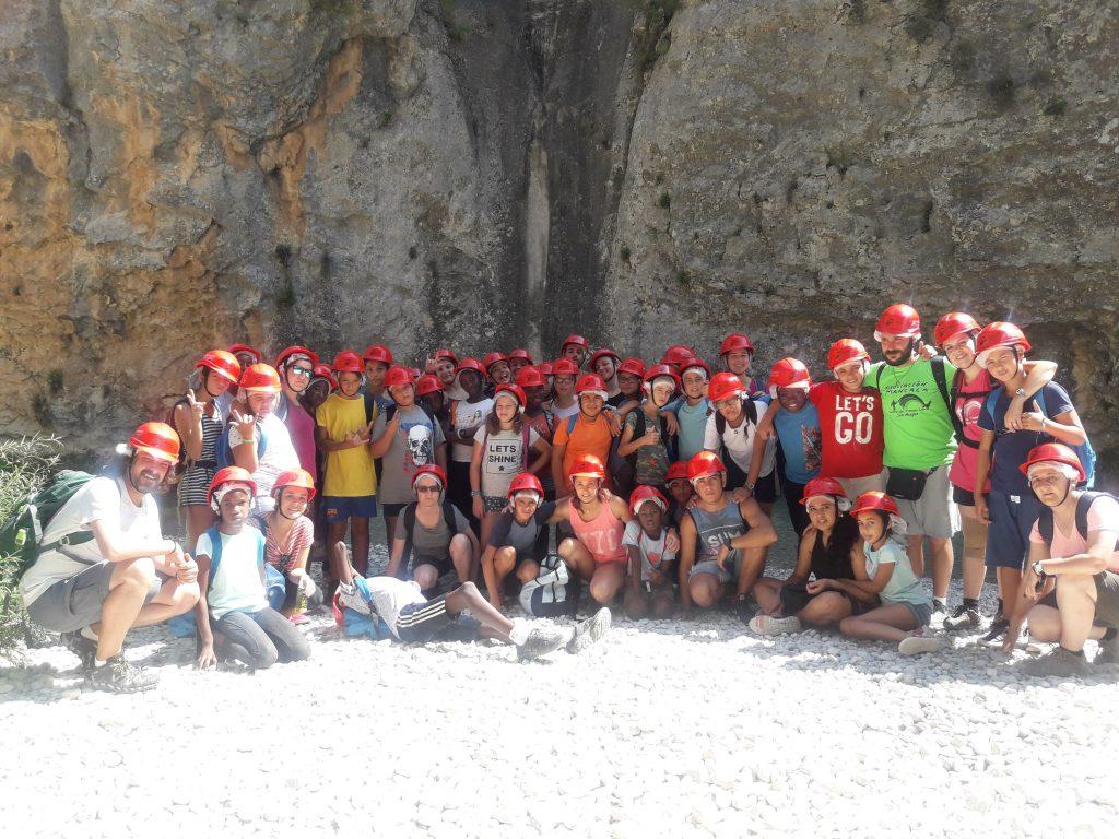 Excursión a la montaña en las colonias de verano del CTL Sin Mugas