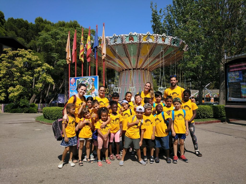 Excursión con los más pequeños del CTL Sin Mugas al Parque de Atracciones