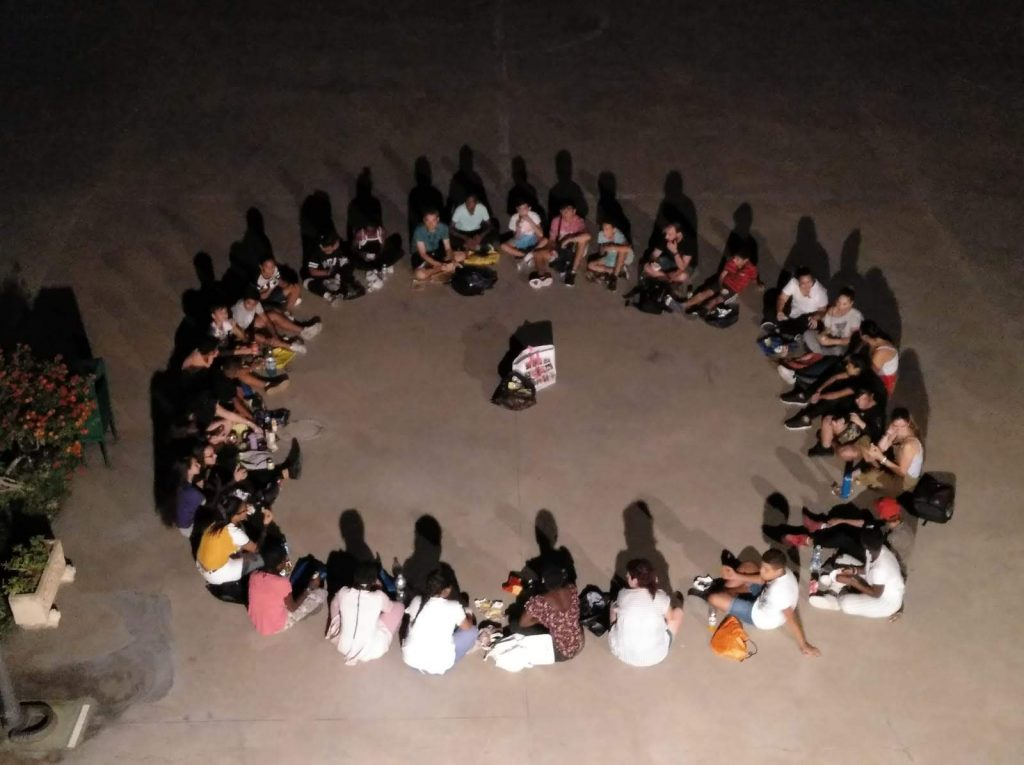 Convivencia con los adolescentes del CTL Sin Mugas en la comunidad de las salesianas de Casablanca