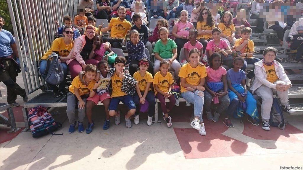 Actividades especiales con los chicos/as del CTL Sin Mugas en las Fiestas del Pilar
