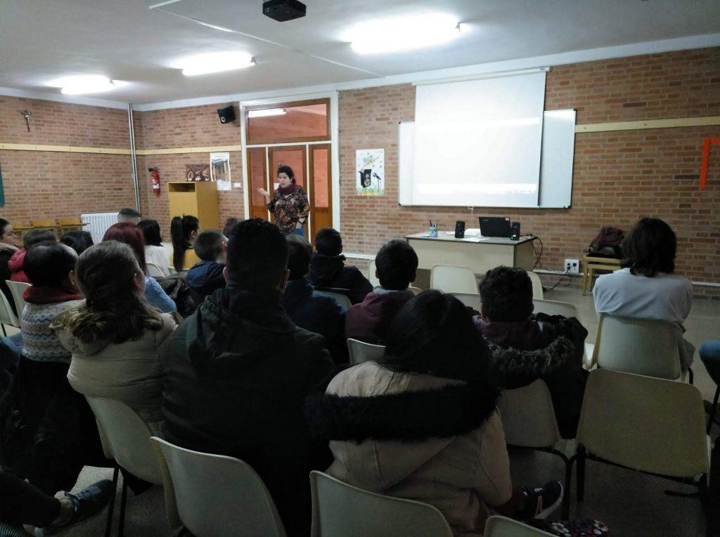 Conociendo a DON BOSCO de forma conjunta con el Colegio María Auxiliadora de Zaragoza