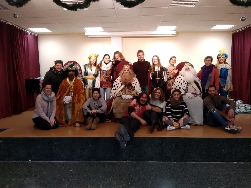 Visita de los Reyes Magos al CTL Sin Mugas