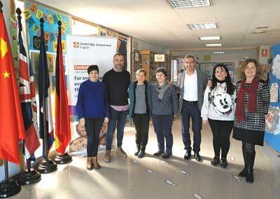 Donación del Colegio Británico de Aragón a la Fundación María Auxiliadora de Zaragoza