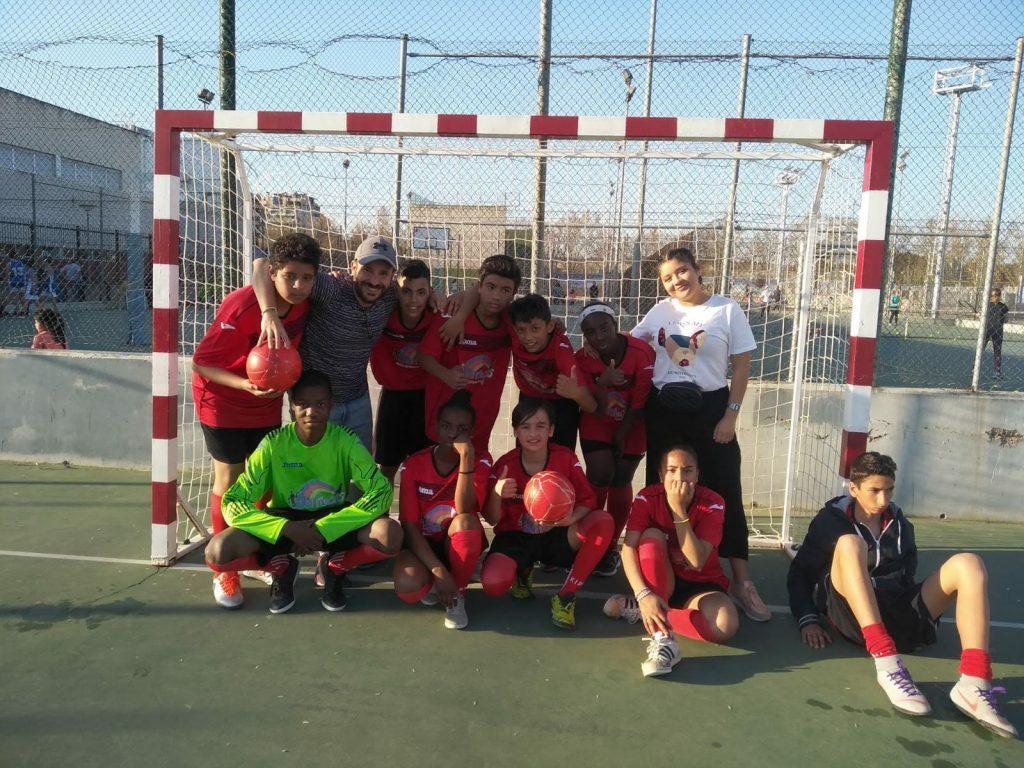 El equipo de fútbol sala del CTL Sin Mugas campeón de liga