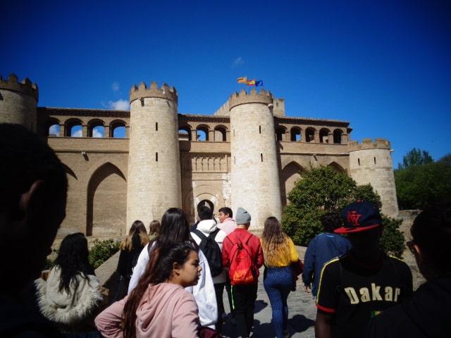 Centro Sociolaboral Actur - Visita al Palacio de la Alfajería.