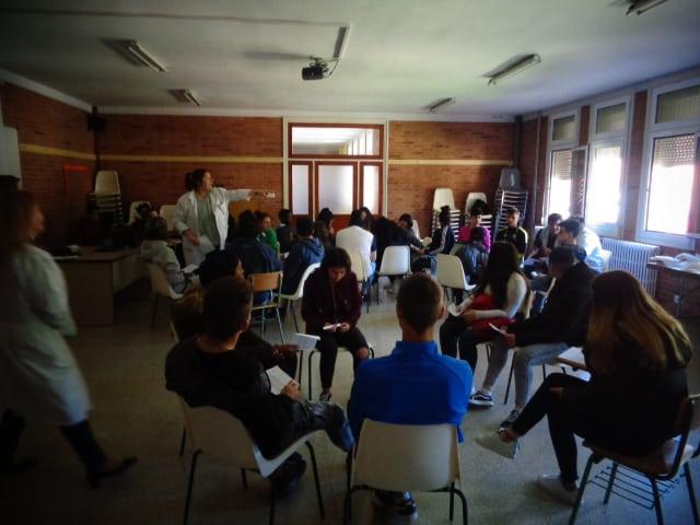 Centro Sociolaboral Actur - Visita al Colegio María Auxiliadora de Zaragoza.