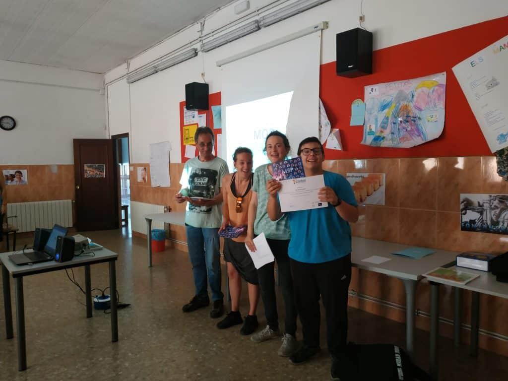 Fin de curso MOP (Módulos de Orientación Prelaboral)