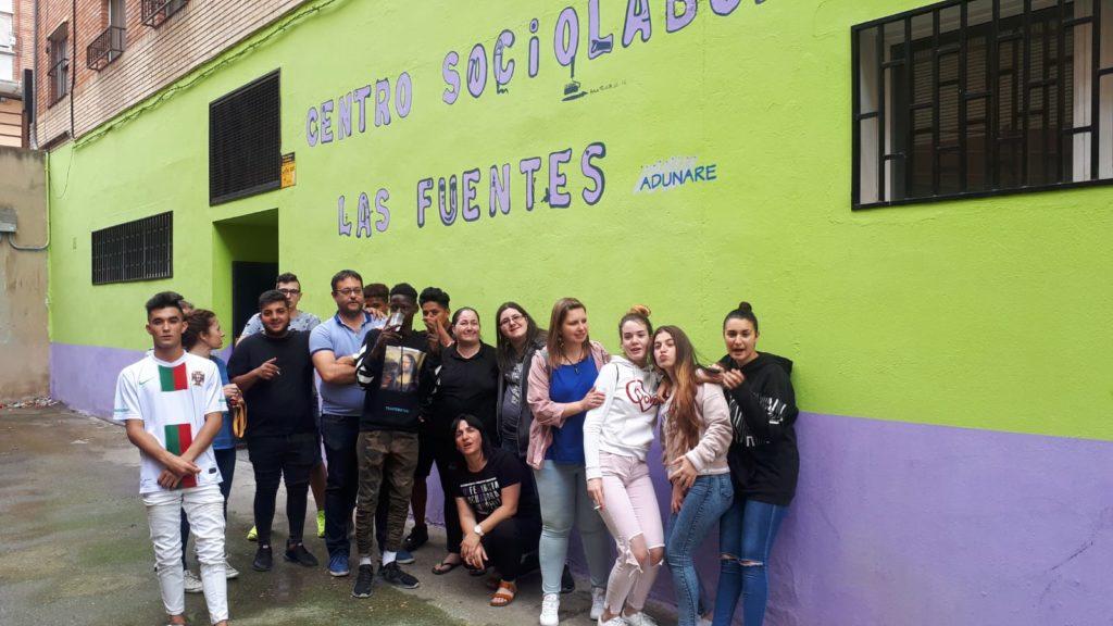 Actividad con el Centro Sociolaboral de Las Fuentes