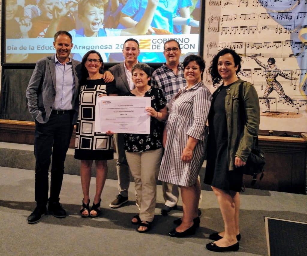 El Gobierno de Aragón reconoce la excelencia y el compromiso de la comunidad educativa en el Día de la Educación Aragonesa