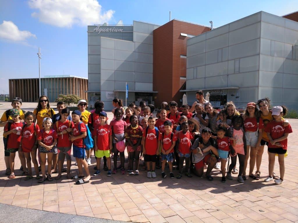 Una tarde en el Acuario de Zaragoza y en las piscinas