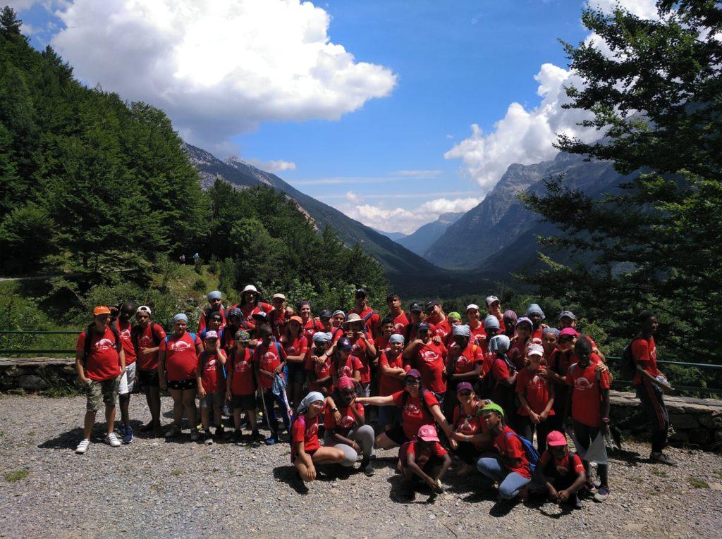 Excursión a la montaña en el CTL SiN Mugas