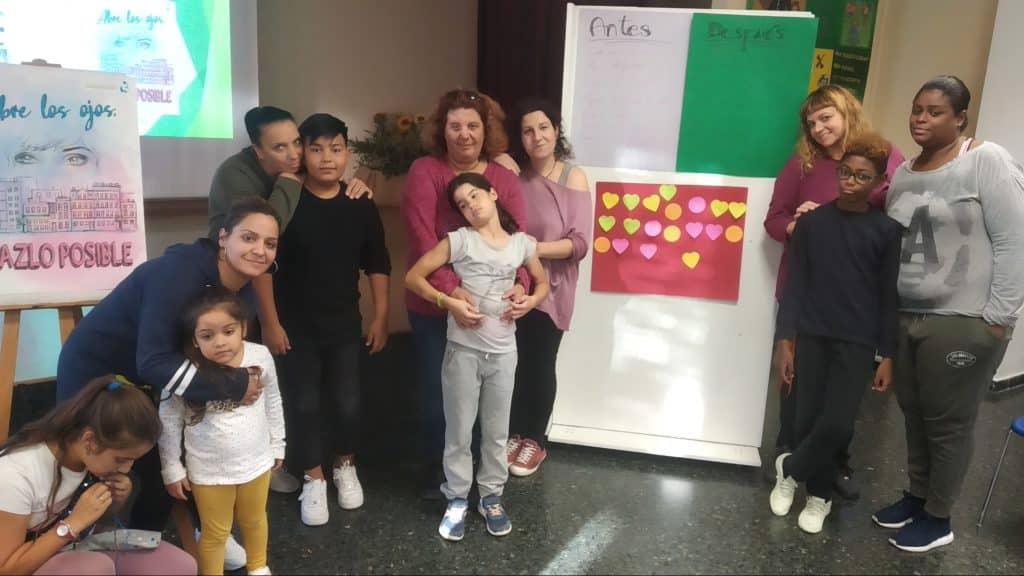 Inicio Talleres Familiares de continuidad en Fundación María Auxiliadora de Zaragoza