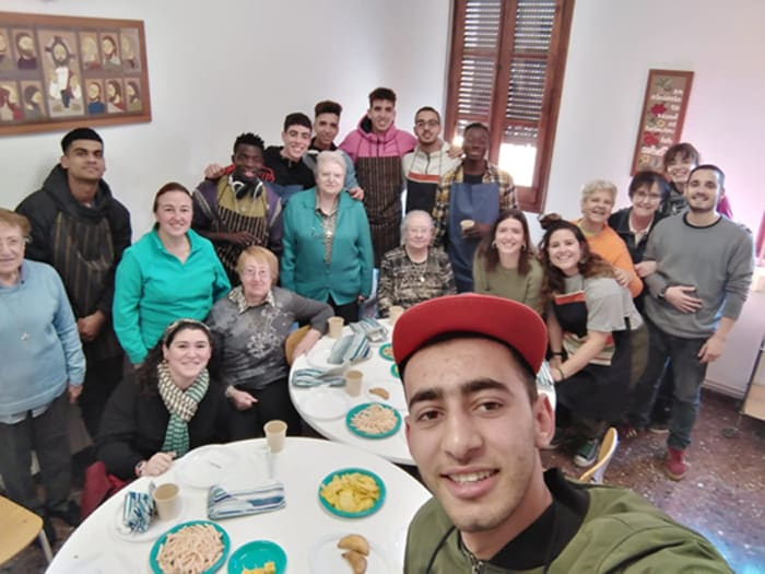 Celebración Don Bosco y un mes viviendo juntos